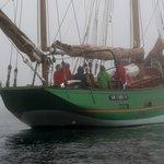Embarquement sur le Sant G'uirec