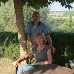 unsere Gastgeber Annette und Roberto
