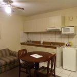 Lounge/kitchenette  - room 204