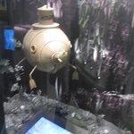 How was filmed submarine