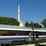 Zug von Izmir nach Selcuk