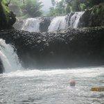 Fabulous waterfall & swimming hole at Togogiga