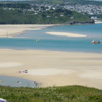 Stunning Views of the Beach from The Penellen, St Ives Bay