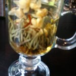 ANOTHER PIC OF THE FLOWERY TEA !!