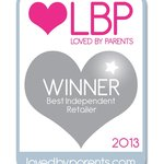 Silver Award for 'Best Independent Retailer' by Loved by Parents.