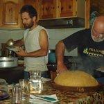Vincenzo e Flavio in cucina