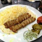 chelo kabab koubideh