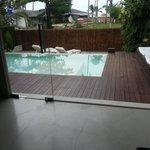 prywatny basen i taras