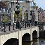 The skinny bridge - one of the 1281 bridges that Amsterdam has