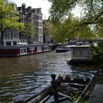 The famous canals: for a lot of people THE reason to come to Amsterdam.