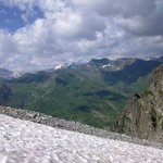 Viata dal ghiacciaio Presena