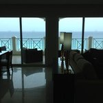 Sea view from inside suite