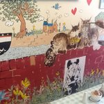 Cafe mural