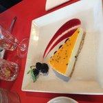 God och vacker cheesecake.