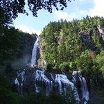 La cascade d'Ars fin juin
