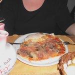 Pizza Monte Baldo - sehr lecker - molto bene!