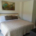 Inside Suite king bed