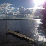 jezioro Łośmiady -widok ze Starej Szkoły