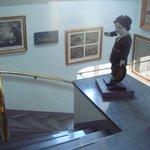 階段もオシャレ