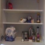 Food in cupboard