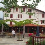 Hôtel et sa terrasse