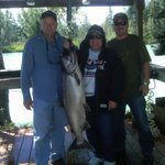 Deb's 40 pound King Salmon