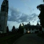 la bellissima chiesa che e' di fianco.