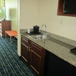 ROOM 500.  Lots of space.   Kitchen area very nice w/ a sink