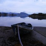 Old Boat and the Loch at Plockton