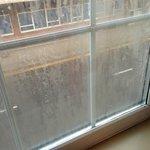 dirty grubby window