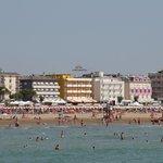 Hotel Continental an der Strandpromenade