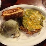 Green Chile Willy's Chicken Fried Steak
