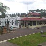 Parque, teatro y salón