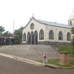 Iglesia y restaurante