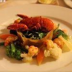 seafood for starter