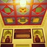 Le plafond de la chambre Bab Agnaou