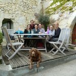 Group Photo at Le Tasting Room