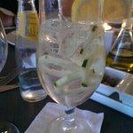 Gin Hendricks no Olivium