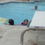Julianna enjoying a swim <3