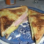 Toasted Ham and Cheese