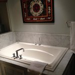 nice size jacuzzi tub