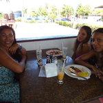 Almoço com a família na churrascaria