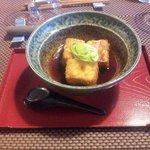 tofu grillé aux bouillons ( tres bon)