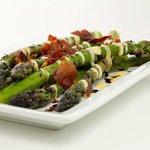 asparagus and pancetta