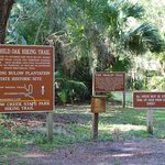 Hiking Trail  - Sign and Map