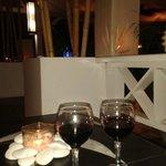 Un lindo lugar para tomar una copa de vino y relajarse