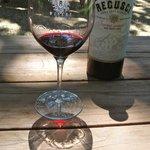 Bottle of Wine At Regusci