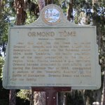 sign about Ormond