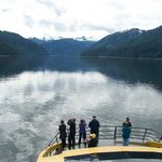 Le paysage de Khutzeymateen est magnifique et le bateau, confortable.