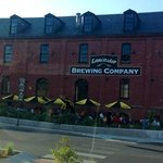 Lancaster Brewing outdoor dining